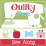 Quilty Fun Sew Along & Blog Tour Button