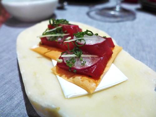Comerc24 pizza sashimi