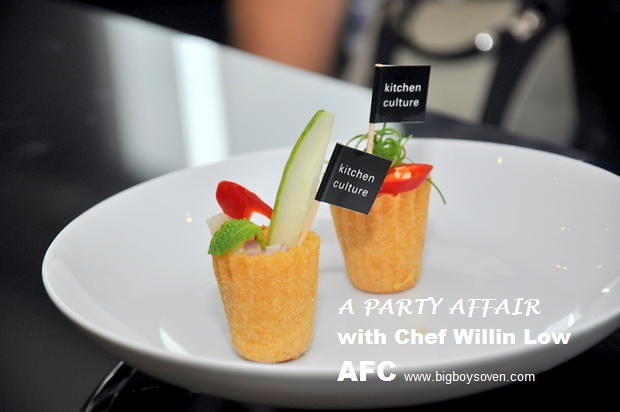 A PARTY AFFAIR with Chef Willin Low AFC  9