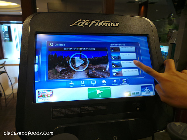 westin grande sukhumvit hotel workout live treadmill