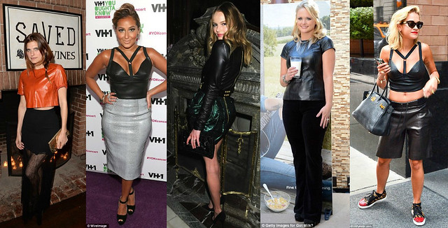 How-to-wear-a-Leather-tops, Leather tops, Leather crop tops, Leather peplum tops