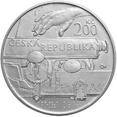 Czech coin Aloys Klar reverse