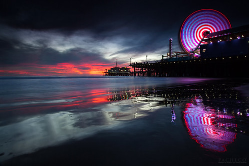 The memory Seeker, Santa Monica Pier, Ca