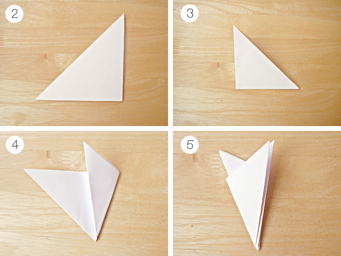 Instructions How To Make Paper Snowflake. Tutorial Christmas ... | 526x700