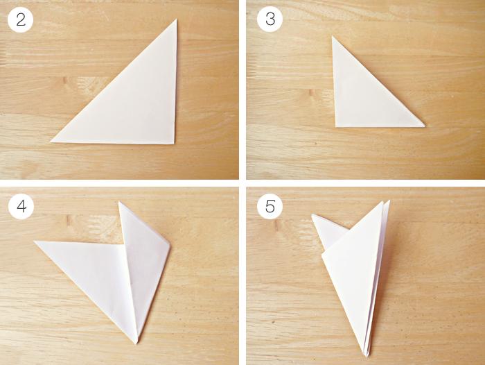 diy christmas paper snowflakes garland tutorial 2
