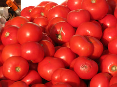 potato and tomato genus, plum tomato, tomato, red, produce, fruit, food,