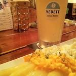 ベルギービール大好き!!【ヴェデット・エクストラ・ホワイト】Vedett Extra White デュベル・モルトガット