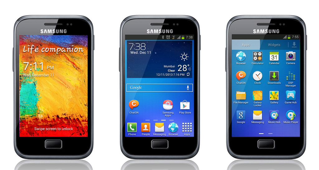 voice download galaxy ace