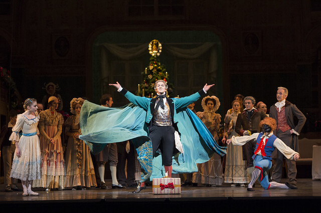 Gary Avis as Drosselmeyer in The Nutcracker © ROH / Bill Cooper 2012