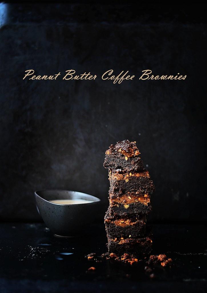 Peanut butter coffee brownies.5