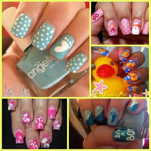 Baby Shower Ideas Babyshower Nails Baby Clothes And Design