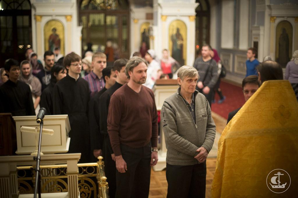 31 декабря 2013, Новогодний молебен