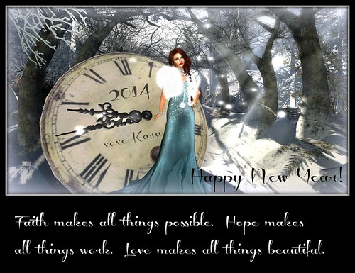 Happy New Year! by Kara Trapdoor