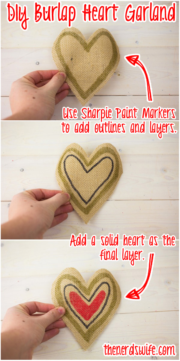 Heart Garland Instructions