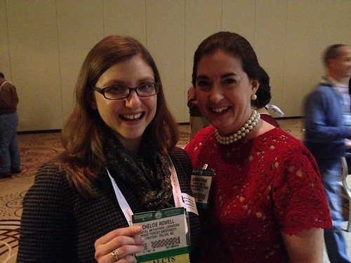 With 2013-2014 ALCTS President Genevieve Owens