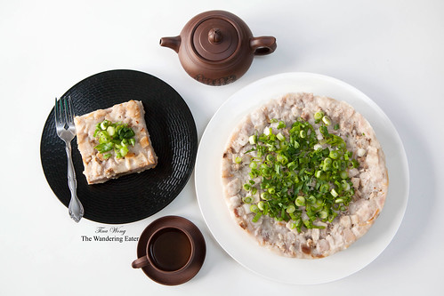 Homemade taro cake (芋頭糕)