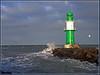 Stürmische Grüße von der Ostsee by Ostseeleuchte