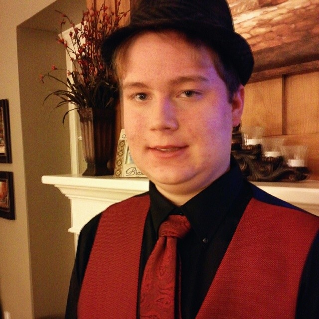 Logan is looking sharp for his #prom #igersok #tulsa #oklahoma