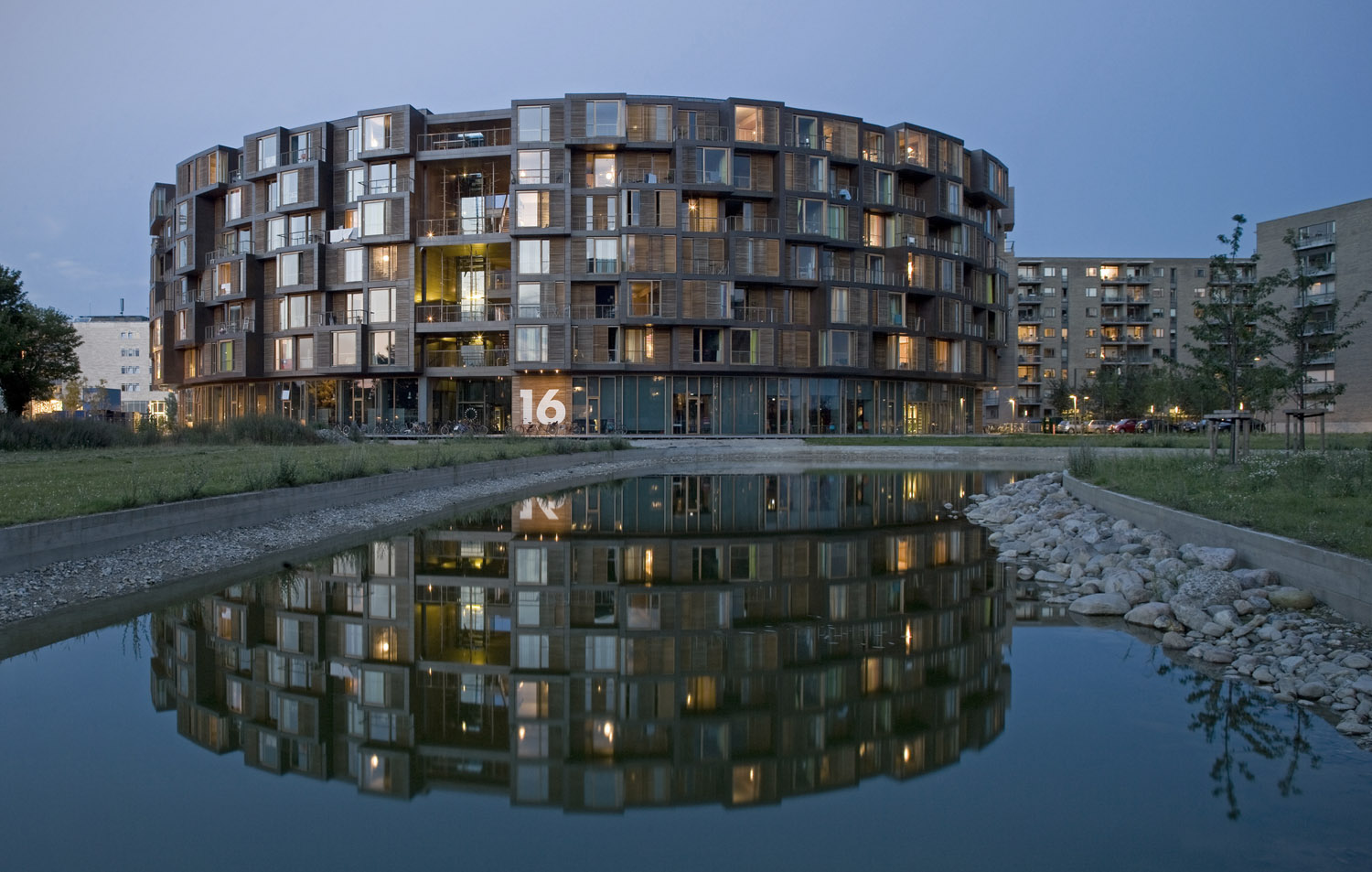 Tietgen Dormitory design by Lundgaard & Tranberg Architects