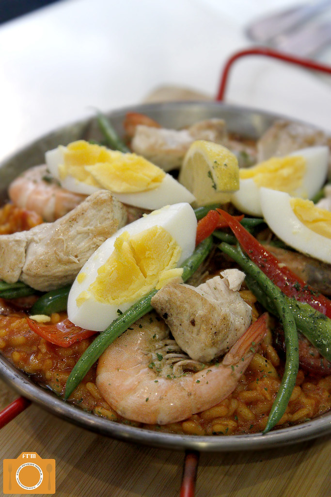Kulinarya Kitchen Seafood and Chicken Paella Risotto