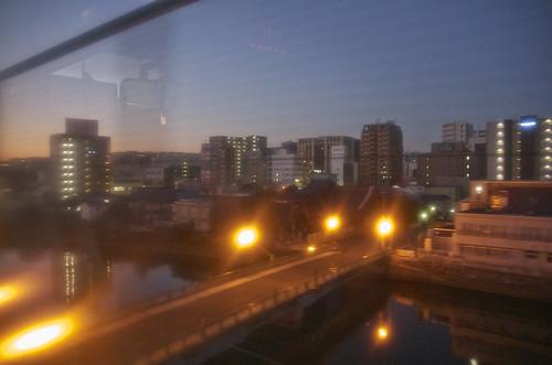 【写真】福岡高速道路・夜景