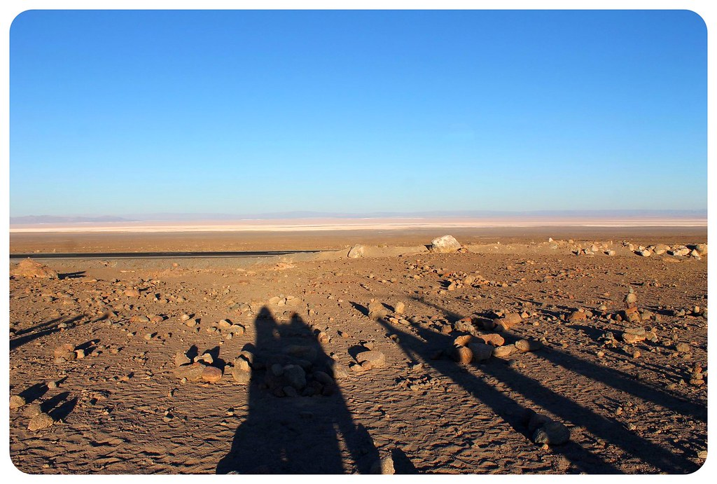 atacama desert chile shadows