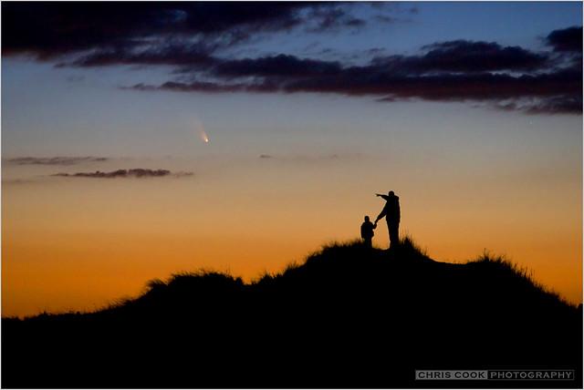Observing Comet PanSTARRS