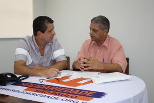 João Batista, pré-candidato a deputado estadual, tem reunião na sede do Solidariedade-SP
