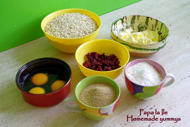 Biscuiti de ovaz cu merisoare (2)