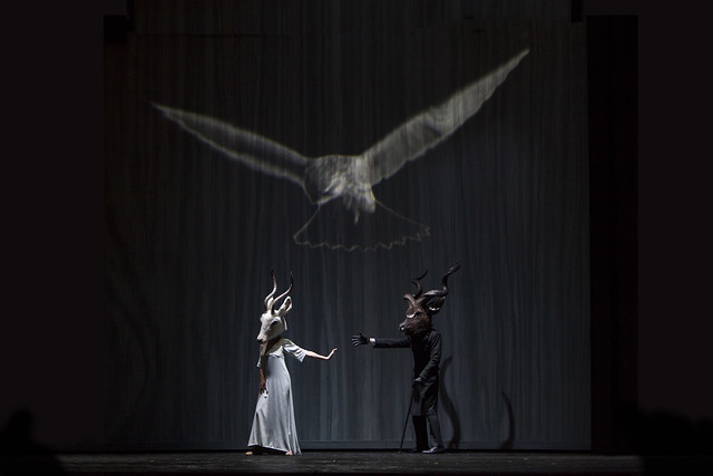 Actors in Die Frau ohne Schatten, La Scala, Milan, 2013 © Monika Rittershaus/Teatro alla Scala