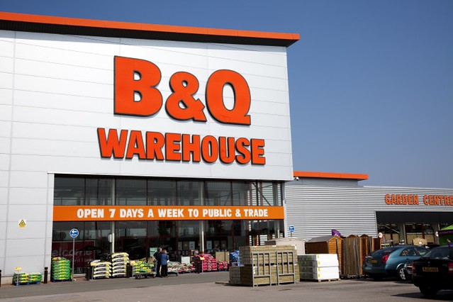 Kingfisher plans to close 60 B&Q stores in Britain over the next two years