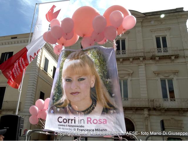 corri in rosa francesca-milano