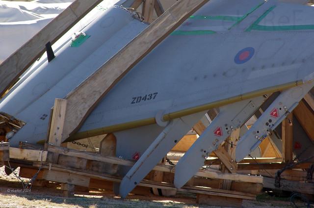 ZD437 Hawker-Siddely Harrier GR9 Wings