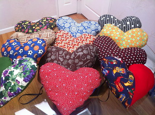 Cardiac Patients Heart Pillows by Pam from Calif