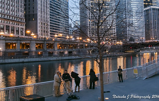 Photowalk. Meetup. Chicago. Skyline and blue hour. April 11, 2014