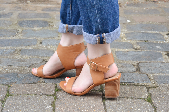 Daisybutter - UK Style and Fashion Blog: what i wore, spring outfits, ASOS tan heels