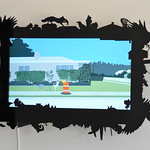 Chris Coleman and Michael Salter - My House is Not My House; Digital video on customized screen, 2014