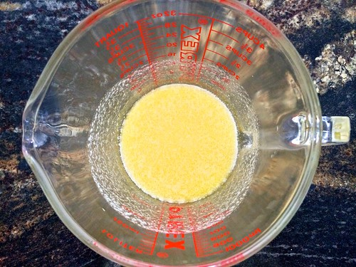 Melted Butter in Measure