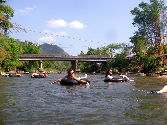 Tubing at Elephant Nature Park