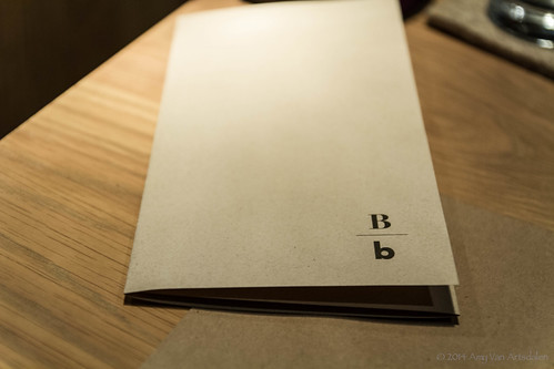 Bouli Bar - Menu Cover