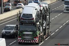 Scania P440 6x2 Car Transporter - PE13 CFO - Caronne-Lea - Eddie Stobart Automotive - M1 J10 Luton - Steven Gray - IMG_4552