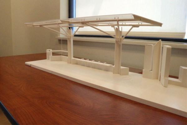 Prototype, Arlington County signature bus shelter