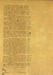 VI/1. Sajó István kérelme: mentesítő okiratot kér, mert a kivételezetteknek nem kellett a gettóba beköltöznie. 6.5_008