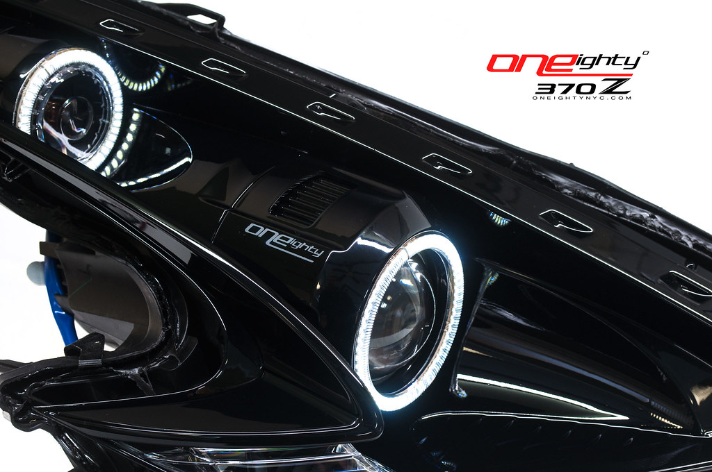 180 custom headlight work log frequently updated page 18 nissan 370z forum