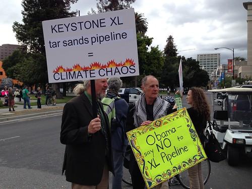 KXL protest, San Jose IMG_2468