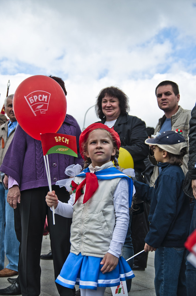 Victory Day (9 May) in Minsk