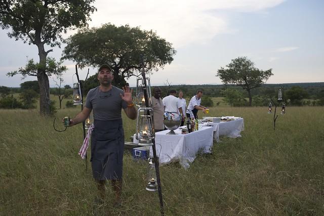 Chef Eric Chavot at Sabi Sabi Private Game Reserve