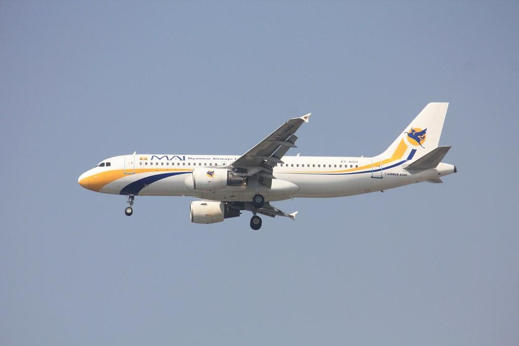 A320-200  XY-AGO