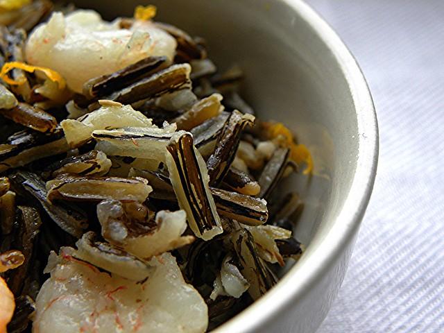 insalata di riso sevaggio canadese con gamberi e arance (1)