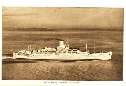 Orient Line SS Orcades